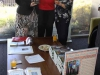 Barbara with William Cooper\'s great grandson Kevin Russell and his aunty Margaret at book signing event at Centacare Shepparton  4/12/12