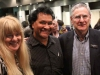 Barbara and Norman Miller with Norman Seligman, CEO, at the book launch at the Sydney Jewish Museum 9/12/12
