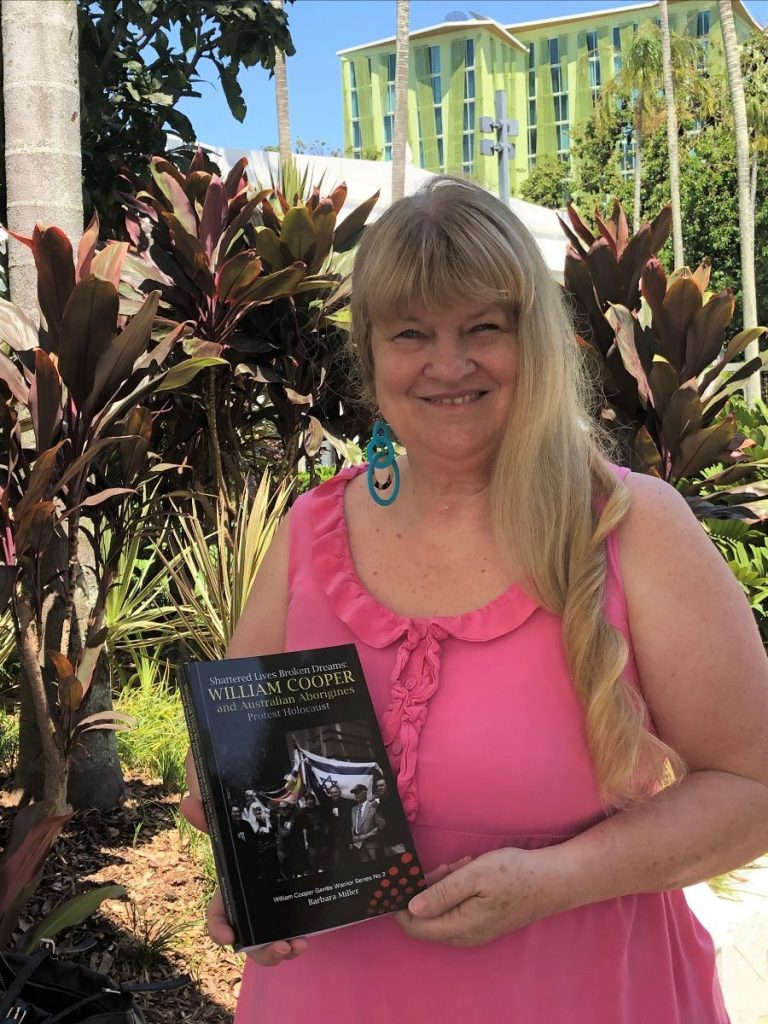 The second photo is of me dropping my books off to the Cairns Library as requested. I have donated copies to the Sydney Jewish Museum, the Jewish Holocaust Centre in Melbourne and will also donate copies to the Lamm Library in Melbourne and Yad Vashem in Israel.
